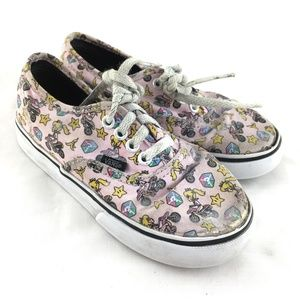 Vans Mario Kart sneakers Princess Peach shoes kids